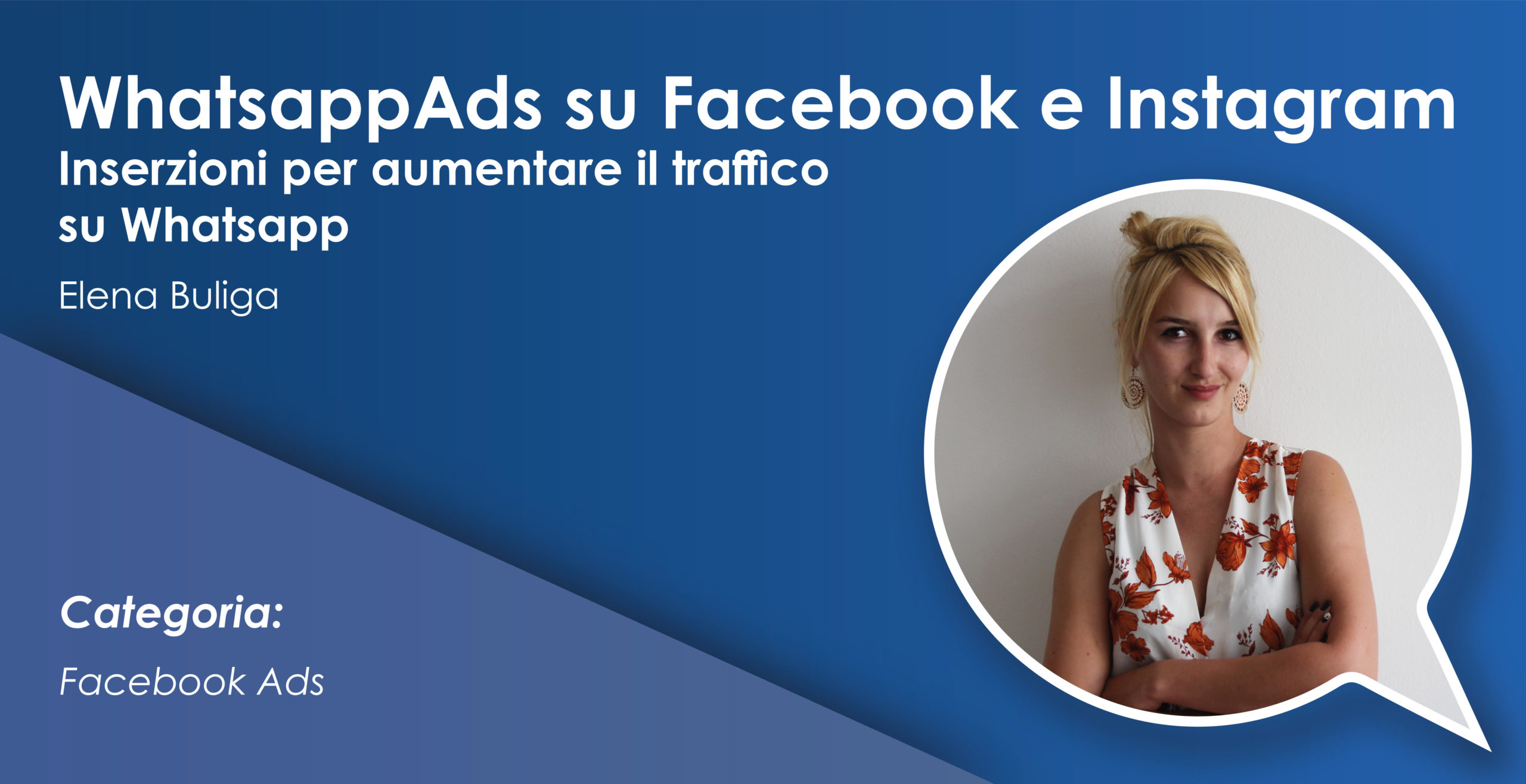 WhatsappAds su Facebook e Instagram